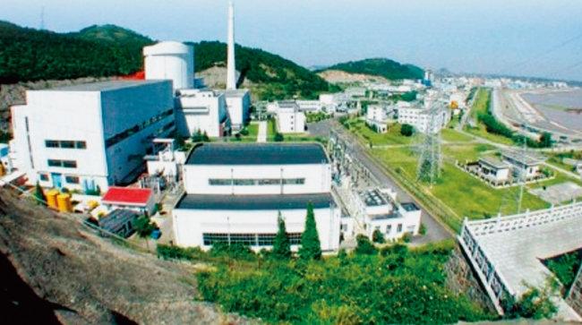 중국 최초 원전인 친산 1호기. [CNNC]