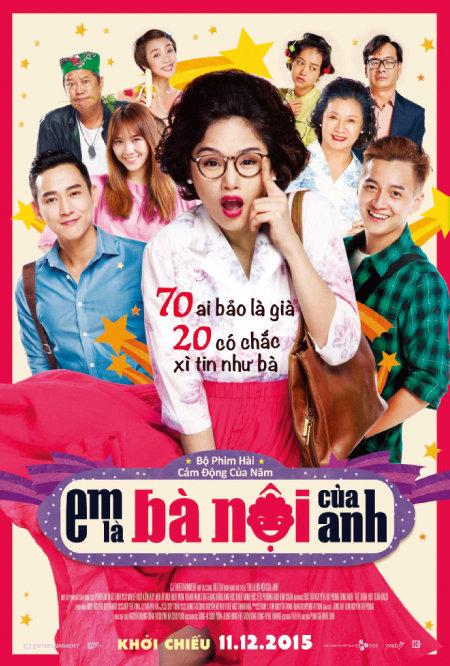 한국 영화 '수상한 그녀'를 베트남판으로 리메이크한 '내가 니 할매다' 포스터. [사진 제공·CJ그룹]
