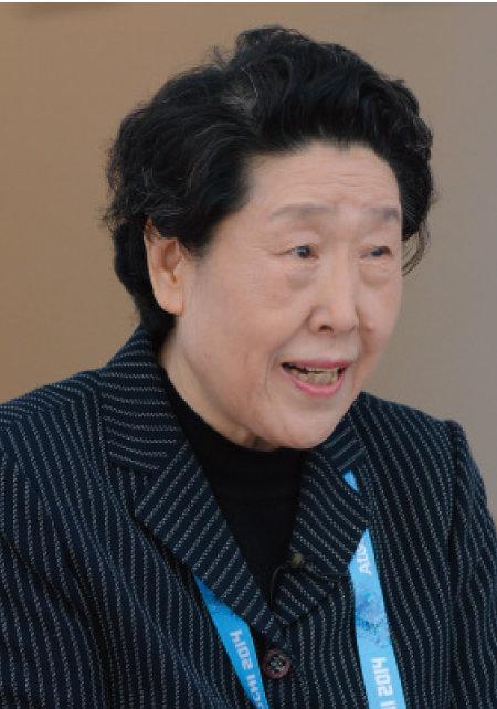 2014 소치동계패럴림픽에서 기자들과 대화하고 있는 황연대 전 한국장애인복지진흥회 부회장. [뉴스1]