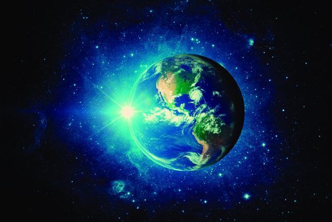 최근 지구 모습. 과학자들은 지구 외형에도 인류의 흔적이 남아 있다고 설명한다.