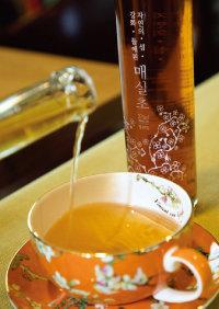 매실식초는 맛과 향이 좋아 음료로도 마시기 좋다. [조영철 기자]