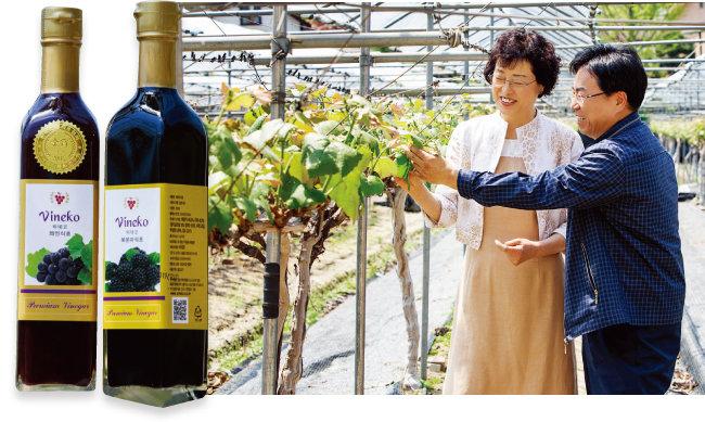 김성미 대표 부부는 발효식초를 통해 인생 2막을 성공적으로 열었다. [김도균 기자]