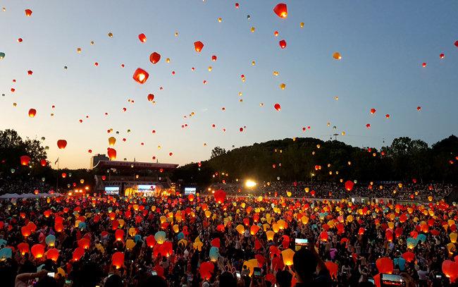 1년에 딱 한 번, 한국에서 볼 수 있는 장관
