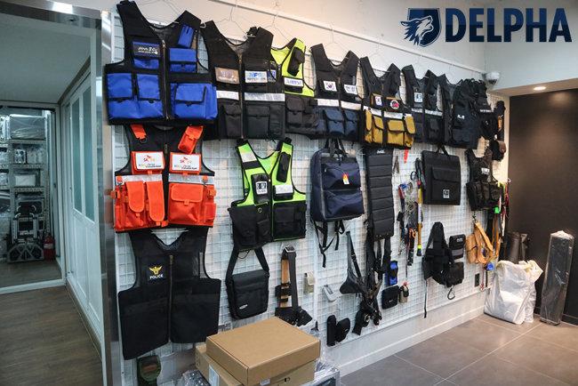 델파(DELPHA), 특수조끼 및 특수장비 전문 브랜드