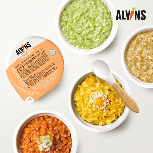엘빈즈, 영유아 식품 전문 브랜드
