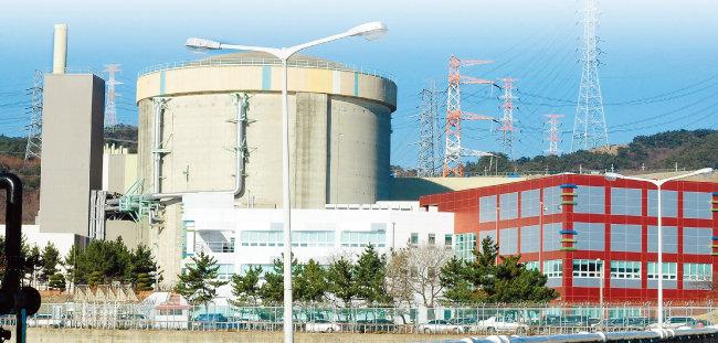 6월 15일 한국수력원자력 이사회가 조기 폐쇄를 결정한 경북 경주시 월성 원전 1호기. [동아DB]