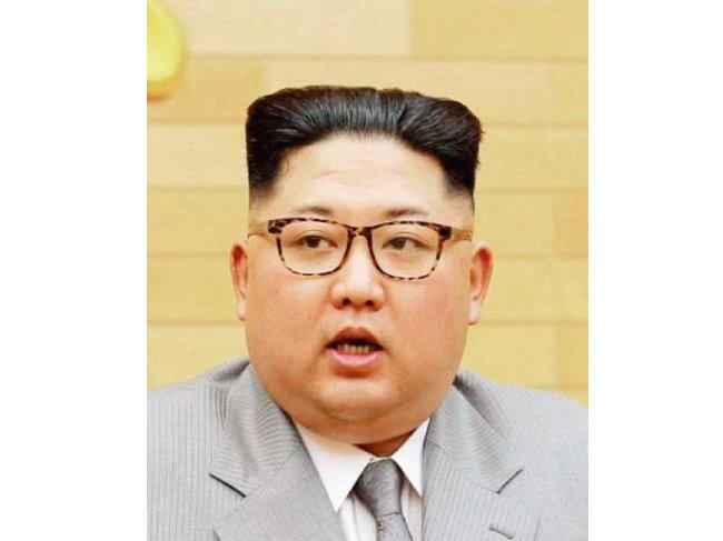 김정은 북한 국무위원회 위원장. [조선 중앙 통신]