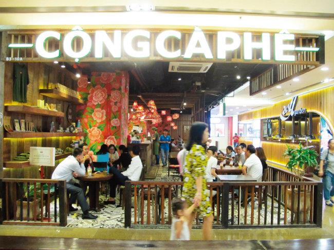 콩카페는 베트남 전통생활 체험장 그 자체다. [동아DB]