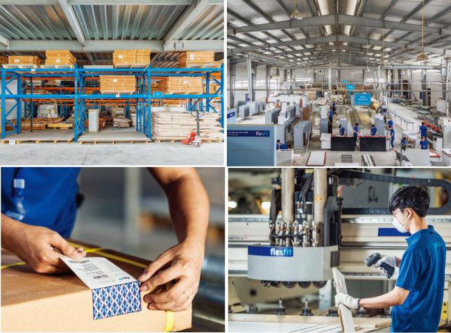 플렉스핏은 하노이 공장에 이어 2021년 호찌민에 또 하나의 공장을 건설할 준비를 하고 있다.