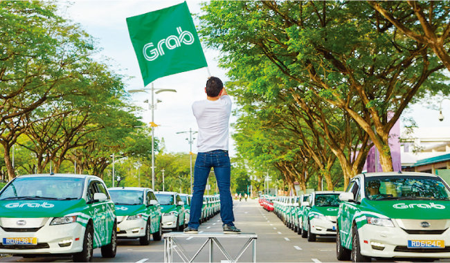 그랩은 6년만에 기업가치가 6조 원에 이를 정도로 빠르게 성장했다. [사진 제공·그랩]