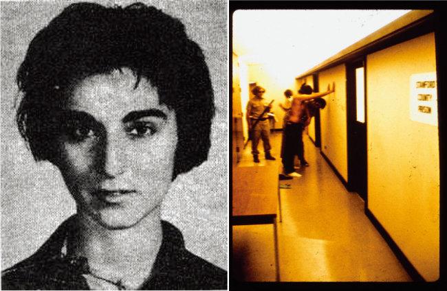 키티 제노비스.(왼쪽), 스탠퍼드 감옥 실험 당시 사진. [동아DB, www.princetonexp.org]