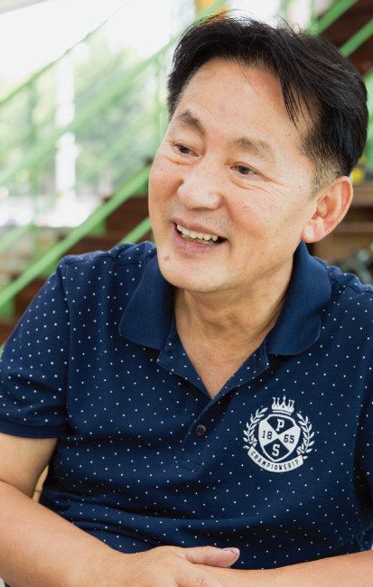 박병일 카123텍 대표. [지호영 기자]