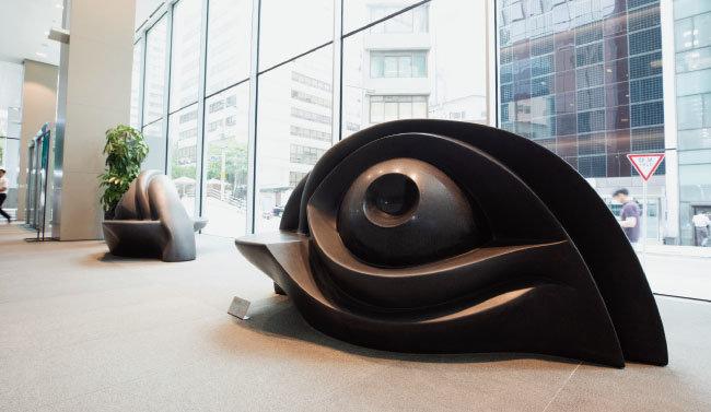 루이스 부르주아, Eye Bench, 1996~97 [지호영 기자]