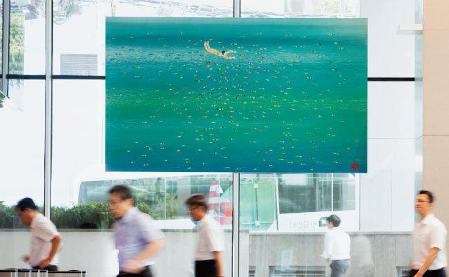 김병종, '카리브·어락Ⅱ', 2008 [지호영 기자]