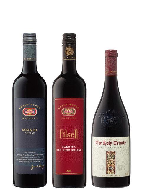 미암바 와인, 필셀 와인, 홀리 트리니티 와인. (왼쪽부터) [사진 제공 · ㈜에노테카코리아]