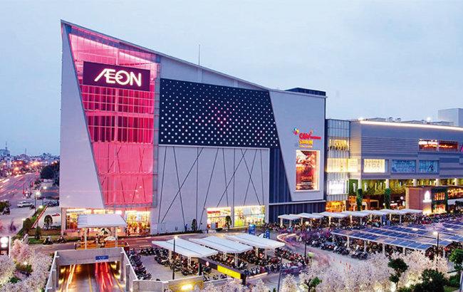 일본 유통업체 이온그룹이 베트남 빈탄에 개장한 대형쇼핑몰. [AEON]
