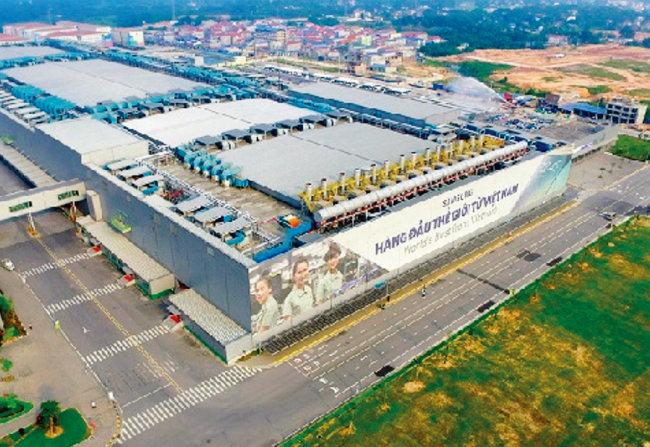 베트남 박닌성에 있는 삼성전자 휴대전화 공장. [vir.com]