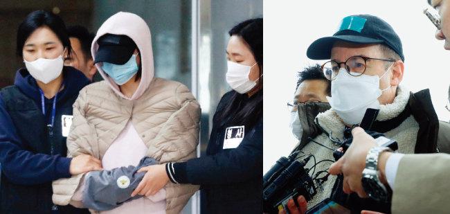 '마약 투약 혐의'로 체포된 남양유업 창업주의 외손녀 황하나 씨(왼쪽)와 방송인 하일(미국명 로버트 할리). [뉴시스]