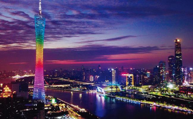 중국 광둥성 성도 광저우시. [뉴시스]