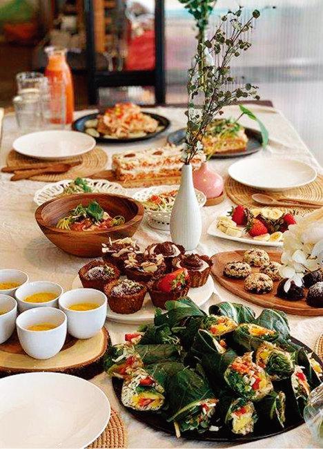 로푸드로 만든 여러 가지 음식들. [사진 제공·로푸드팜]