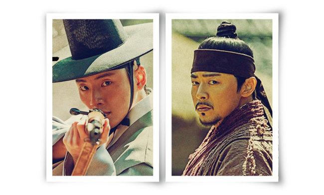 백이현(윤시윤 분) (왼쪽), 백이강(조정석 분) [사진 제공 · SBS]
