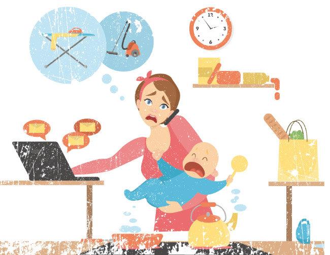 출산 후 많은 여성이 학업과 사회생활로 쌓아온 자신의 경력이 엄마라는 새 임무에는 전혀 도움이 되지 않는다는 사실을 깨닫는다. [shutterstock]