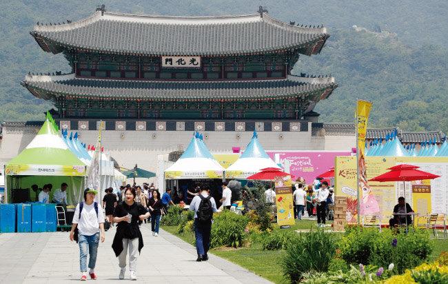 이번 박람회에는 문화체육관광부가 선정한 '5대 글로벌 육성축제' 등 전국 65개 축제가 참여했다.