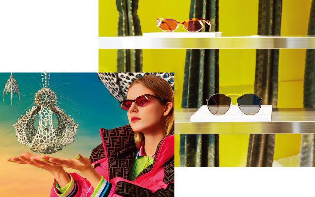 젠틀몬스터와 펜디가 협업해 만든 젠틀펜디 컬렉션. [사진 제공 · 젠틀몬스터]