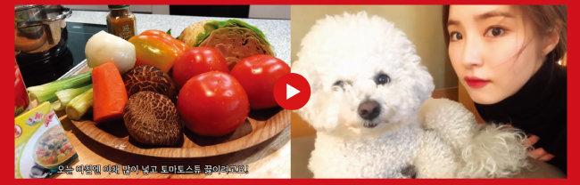 배우 신세경은 지난해 10월부터 요리와 베이킹을 주제로 유튜브 채널을 운영하고 있다. [신세경 유튜브]