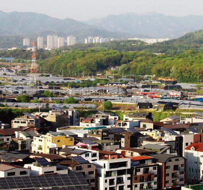 3기 신도시 공급 예정지가 강남 대기 수요를 흡수할 만큼 매력적이지 못하다는 지적도 나온다. 사진은 고양 창릉지구 전경. [동아DB]