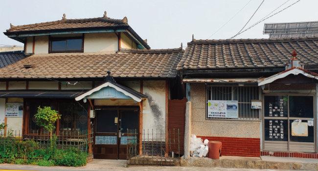 목포 근대문화거리에 있는 일본식 가옥.