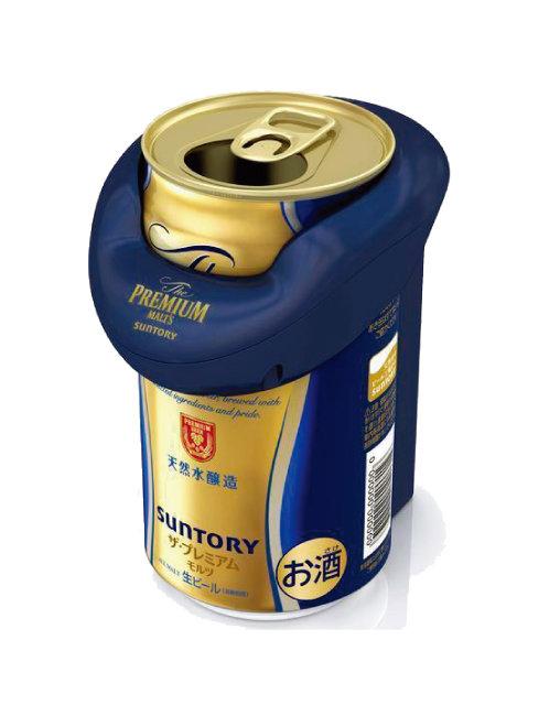 산토리맥주의 휴대용 맥주 서버. 미세한 초음파가 크리미한 맥주를 만들어낸다. [산토리맥주 홈페이지]