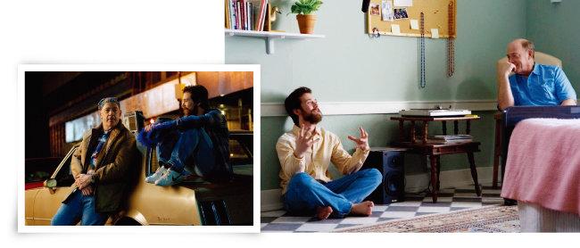 영화 '뮤직 네버 스탑'(원제 The Music Never Stopped)에서 아버지와 아들이 추억을 공유한 음악에 대해 대화하는 장면. [imdb]
