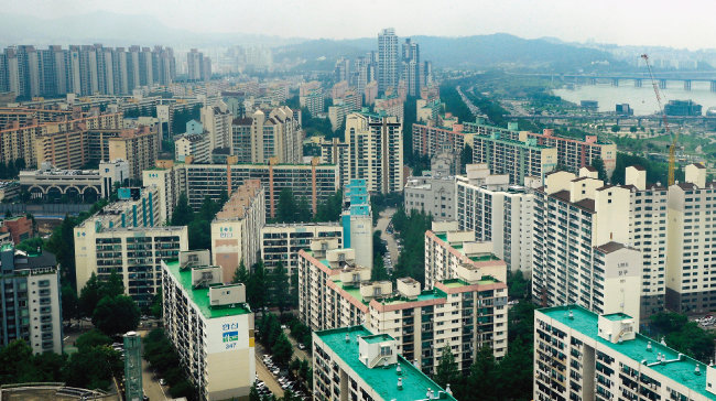 서울 서초구 일대 아파트 단지. [뉴스1]