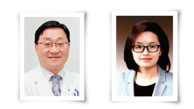 김대중 교수(왼쪽) 하경화 교수