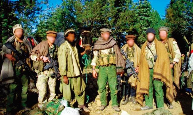 미국 중앙정보국(CIA)의 특수공작단(SOG) 대원들이 아프가니스탄에서 활동하는 모습. [위키피디아]