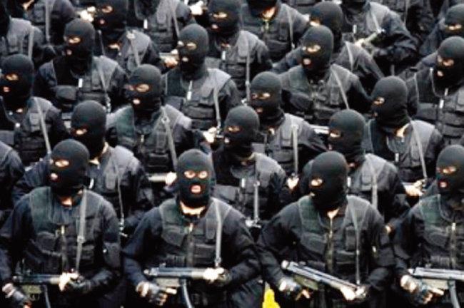 이란 혁명수비대의 해외공작을 담당하는 알 쿠드스 대원들. [iranbriefing.net]