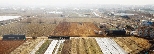 인천 계양테크노밸리에 1만7000가구가 공급되며 직주근접형 자족도시로 조성될 박촌동 일대. [뉴스1]