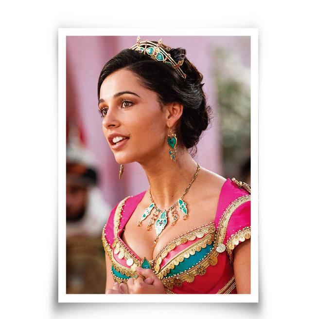영화 '알라딘'에서 여성 술탄에 오르는 자스민 공주 역의 나오미 스콧. [IMDb]