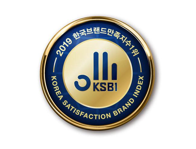 2019 한국브랜드만족지수 1위