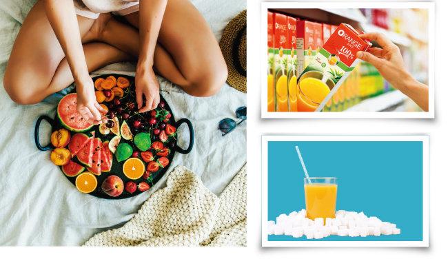 건강을 생각한다면 과일주스보다 생과일을 섭취해야 한다. 과일은 공복 상태에서 간식으로 먹는 것이 좋다. [shutterstock]