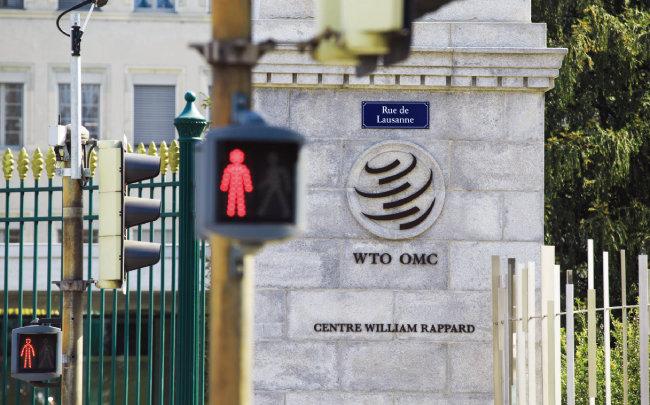 미국은 다자간무역협상체제의 핵심인 세계무역기구(WTO) 체제를 무력화하고 있다. 사진은 스위스 제네바에 위치한 WTO 본부. [신화=뉴시스]