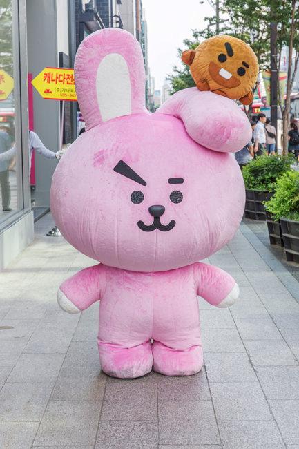 서울 라인프렌즈 플래그십 스토어 강남점 가보니
