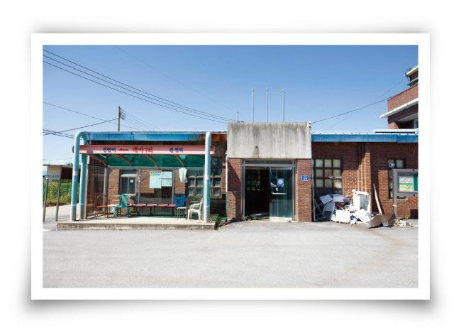 백마고지에 인접해 있는 철원군 철원읍 대마1리. [지호영 기자]