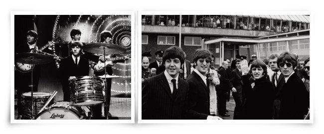 영국이 낳은 불세출의 록밴드 '비틀스'.[GettyImages]