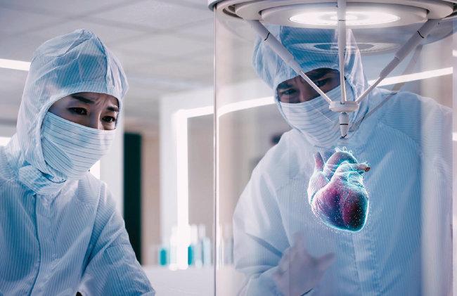 고대의료원은 3D 장기 프린팅 기술로 환자에게 맞는 심장을 출력하겠다는 구상도 내놓았다. [자료 제공 · 고대의료원]