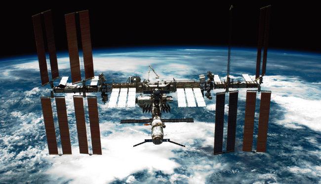 국제우주정거장(ISS). [사진 제공 · NASA]