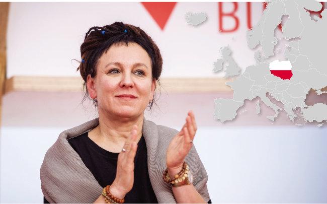 2018년도 노벨문학상을 수상한 폴란드 작가 올가 토카르추크. [gettyimages]