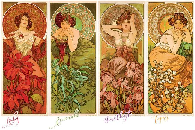 토파즈가 황금빛 여인으로 형상화된 사연