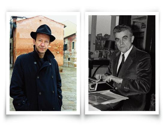 조르조 아감벤(왼쪽)과 르네 지라르. [gettyimages]
